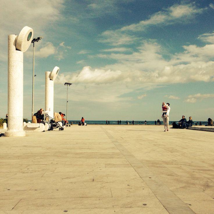 Sole, caldo e letteratura oggi a #Pescara. #FLA2013 #PEtips
