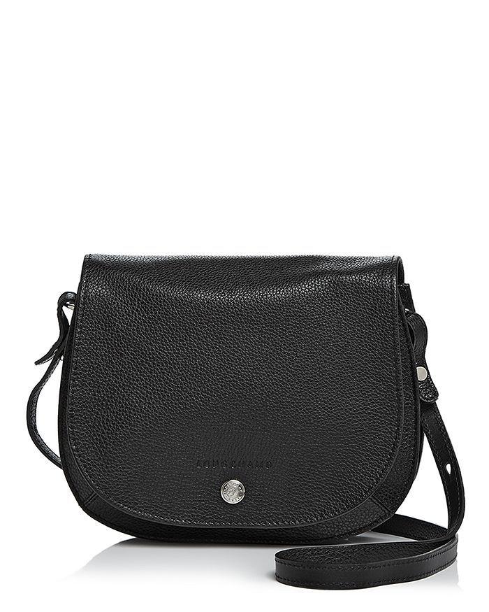 Longchamp Le Foulonne Small Leather Saddle Handbag Handbags ...