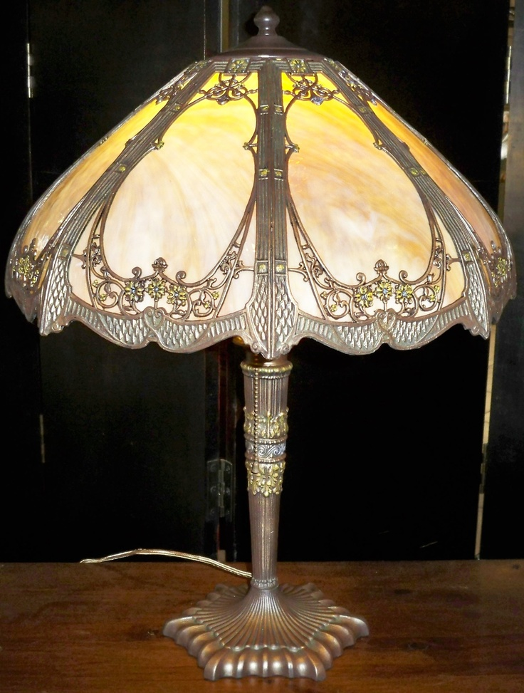 16 Best Images About Slag Lamps On Pinterest Lamp Shades