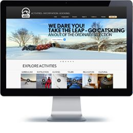 Explore Niseko Company winter website built with PHP/HTML, JQuery .