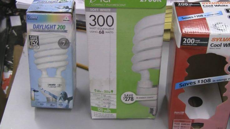 Compact Fluorescent Cfl Grow Light Bulbs