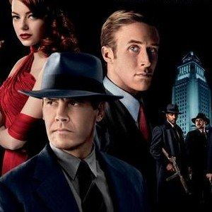 Gangster Squad Cast Banner with Sean Penn and Josh Brolin - Ryan Gosling and Emma Stone are also featured in this latest look at Ruben Fleischer's gangland thriller.