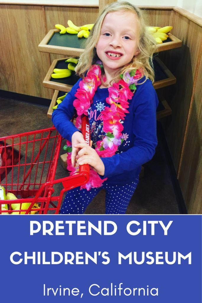 Visit the new Trader Joe's grocery exhibit at Pretend City Children's Museum in Irvine, California where children can shop just like their mom or dad. via @socalfieldtrips