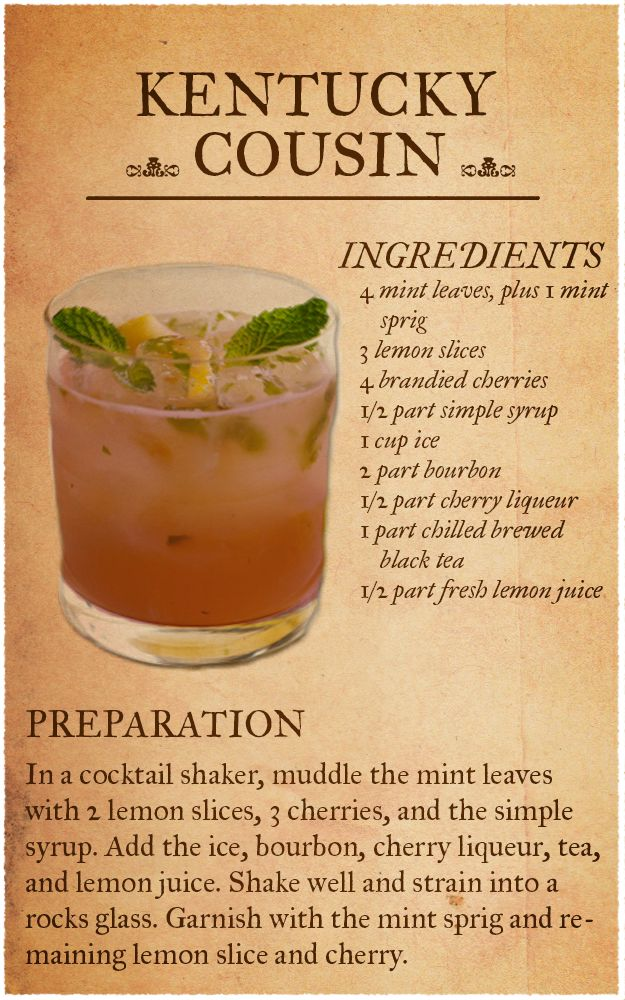 Jim Beam Drink Recipes