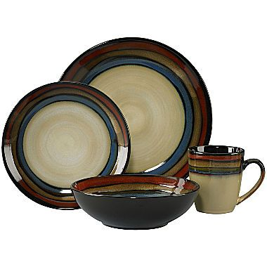 Buy Pfaltzgraff Galaxy Red 16 pc Reactive Glaze Dinnerware Set today at jcpenneycom You deserve great  sc 1 st  Pinterest & The 94 best Dinnerware images on Pinterest | Casual dinnerware Dish ...