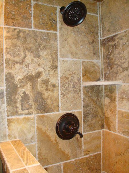 Image Gallery Website Cappadocia Brushed u Chiseled travertine tiles laid in a French Pattern