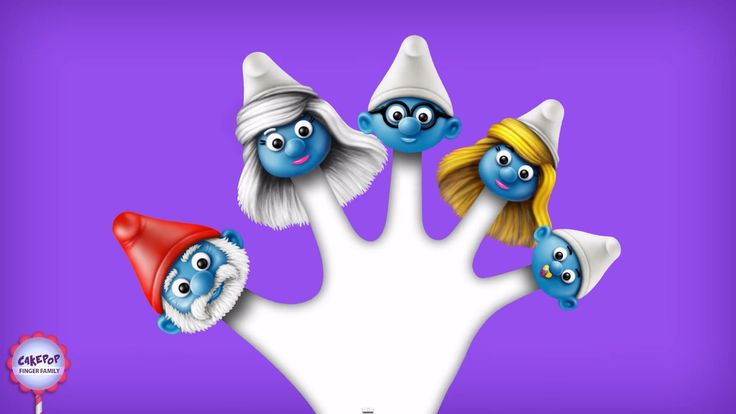 Smurfs Finger Family | Nursery Rhyme | Smurfs Finger Family Songs for kids