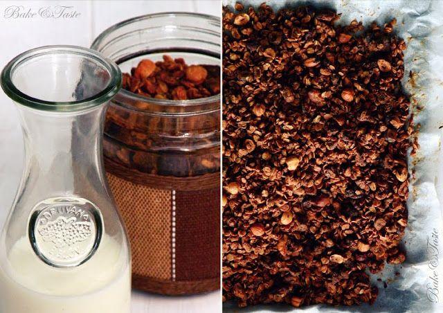 Bake&Taste: Granola podwójnie orzechowa