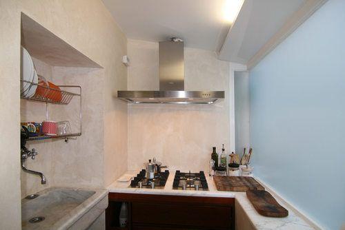 Kitchen Private appartment in the heart of #Rome Collaborator with Manfredi Pistoia Architetti