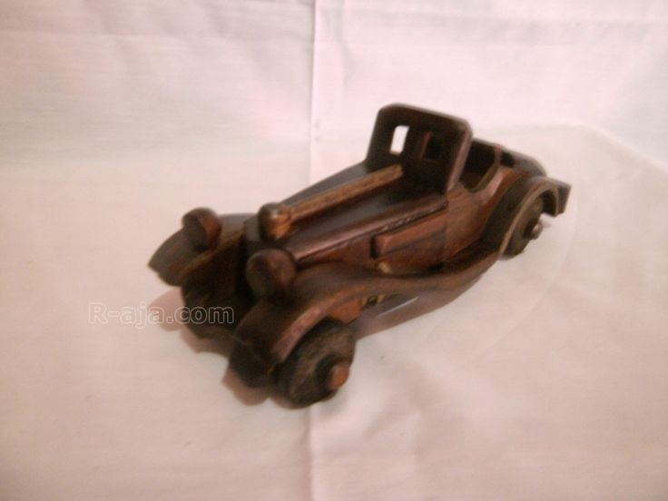 Handicraft Miniature Wooden Classic Car Atalanta made of Wood.  Various size and designs classic, antique, produced by the hands of our craftsmen typical Yogyakarta – Indonesia.