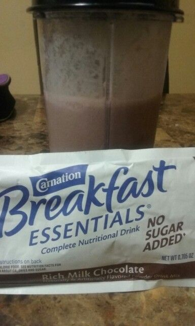 Pre op liquid diet.  Blend 16oz of fat free milk with one or two packets of no sugar added carnation instant breakfast. One packet with 16oz of milk contains 21 grams of protein, while two pack makes 26 grams of protein and ONLY 300 CALORIES!!! Add 4 ice cubes to make the shake thicker and more filling. :)