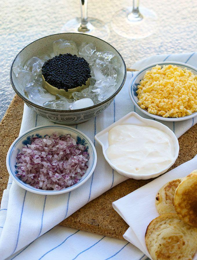 How to Serve Caviar   www.bellyrumbles.com