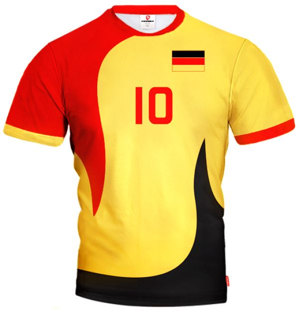ACTIVE Germany Volleyball Jersey With Custom Name and Number