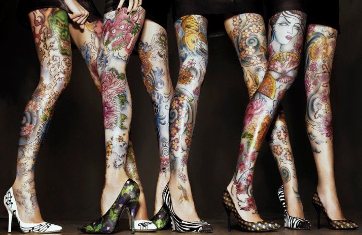 Real or not, still looks amazing! high heels tattoo by ~emizanemin on deviantART
