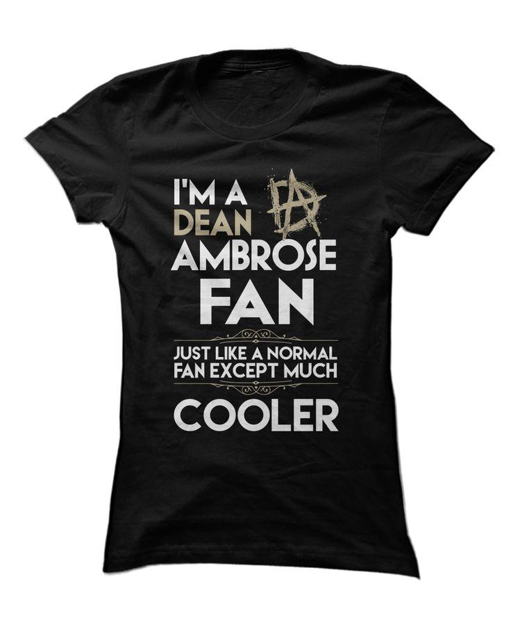 Dean Ambrose - I'm A Fan, Like Normal Except Cooler