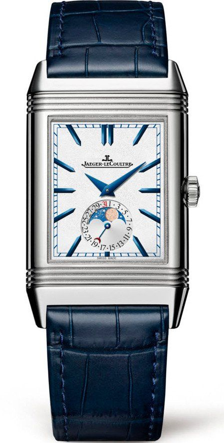 Jaeger-Le Coultre Watch Reverso Tribute Moon Blue