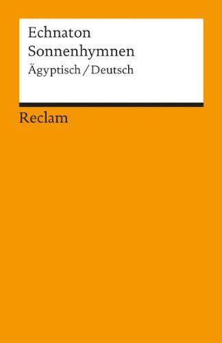 Sonnenhymnen: Ägypt. /Dt.: Amazon.de: Christian Bayer: Bücher