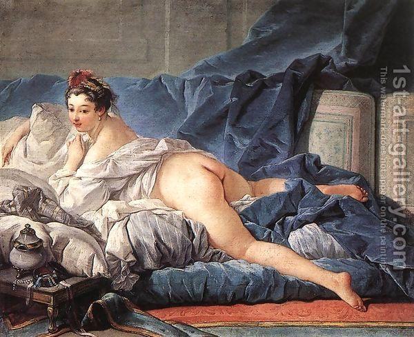 Brown Odalisque (L'Odalisque Brune) 1745 by François Boucher