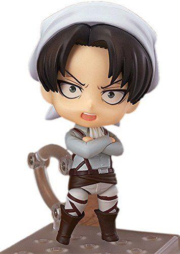 Amazon Nendoroid 417 Attack On Titan Levi Cleaning Ver PVC Figure Anime