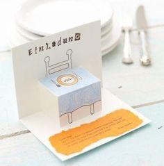 die 25+ besten ideen zu einladung zum essen auf pinterest, Einladungskarten