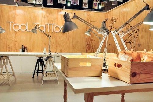 tattoo shop design workshop interior design inspiration