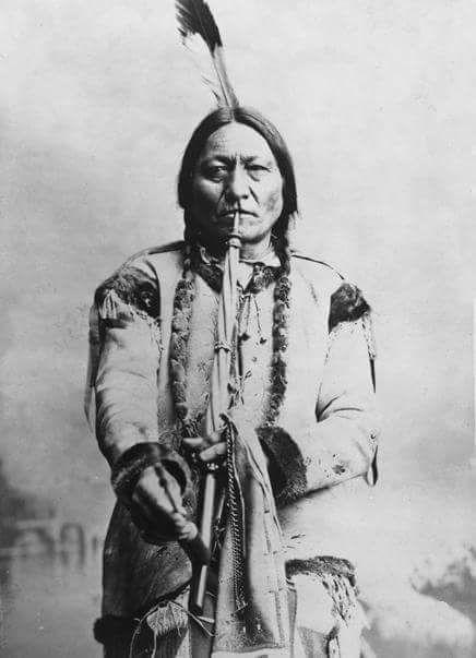 Сидящий Бык, вождь хункпапа-лакота