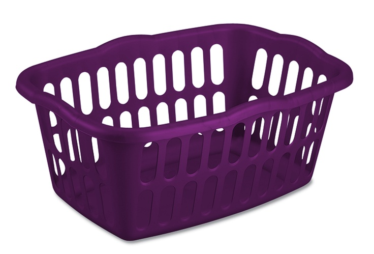 Because who can resist a purple laundry basket for my purple laundry room?  Sterilite 53 L Laundry Basket (Purple Pearl), Walmart.ca