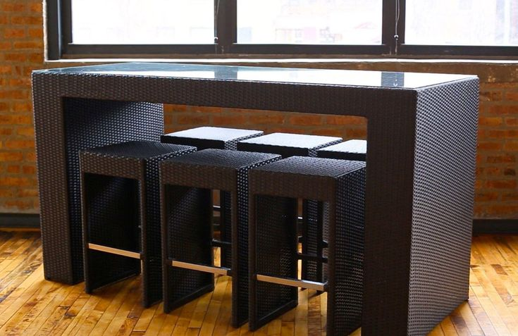 Icon of High Top Table Sets to Create an Entertaining Dining Space