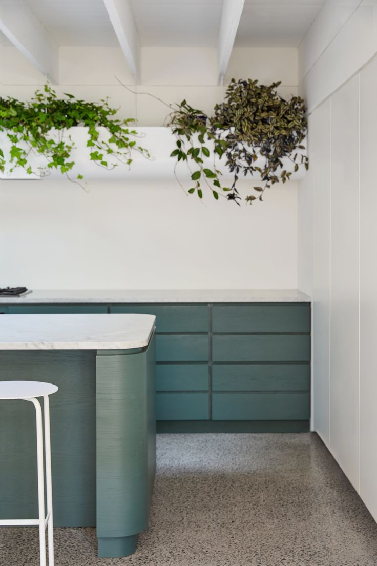 Photo 25 of 89 in Best Kitchen Colorful Photos from Villeneuve Residence - Dwell