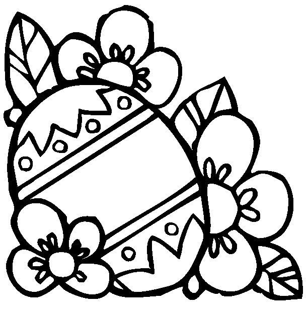 36 Best Easter Coloring Pages Images On Pinterest