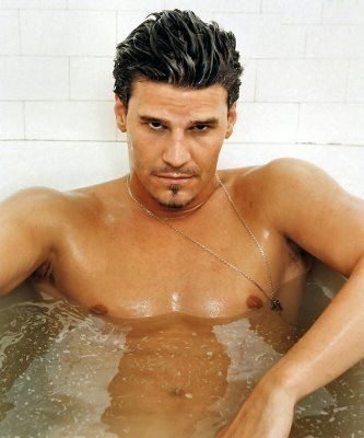 David Boreanaz...hes giving the look my hubby gives me...teehee!