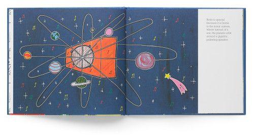 El ilustrador Ras Mykha creó un libro donde muestra a los niños la importancia del sonido
