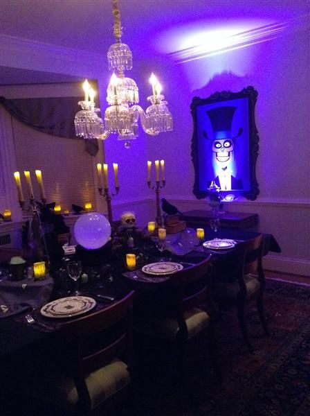 Disney Haunted Mansion inspired party