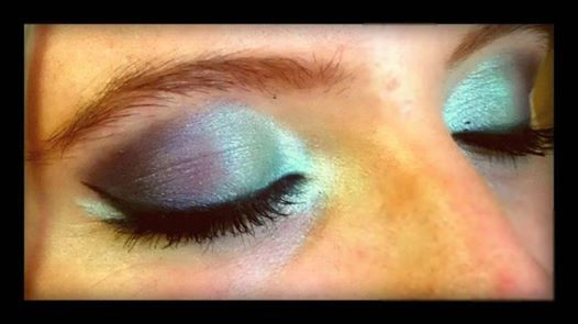 dramatic eye shadow