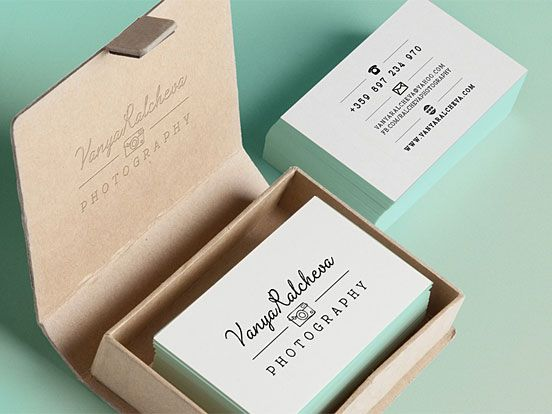 Vanya Ralcheva Business Cards