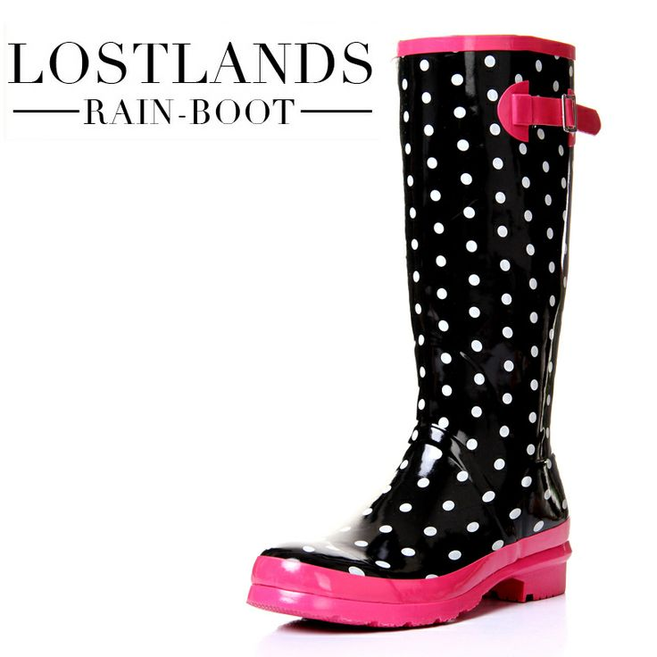 17 Best images about Rain boots on Pinterest | Cute flats, Polka ...