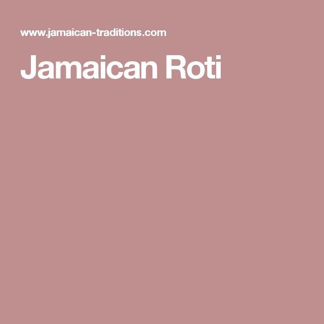 Jamaican Roti