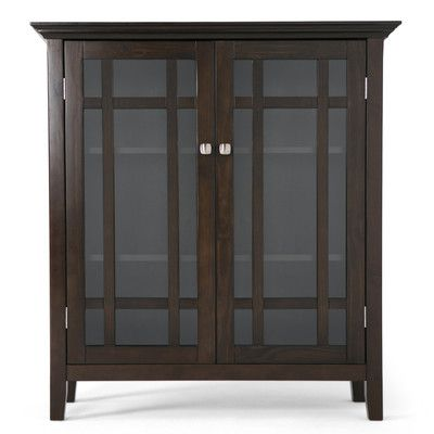 Charlton Home Burkhart 2 Door Accent Cabinet