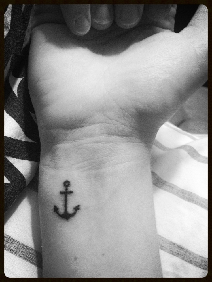 Anchor Tattoo:)