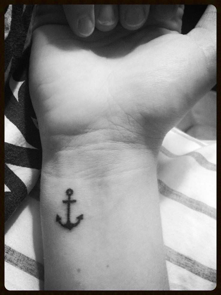 Anchor Tattoo:)