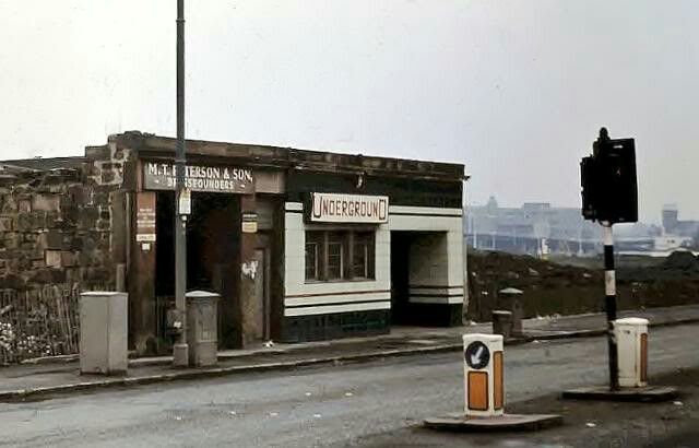 Shields Road Underground Station, Glasgow (1976)