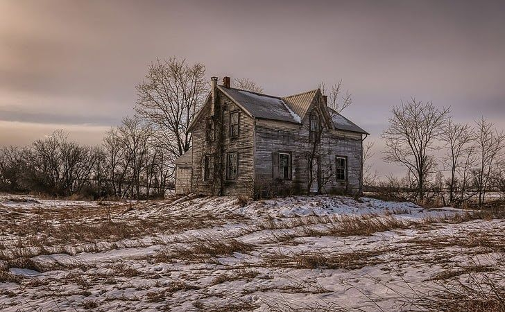 17 Full Hd Nature House Wallpaper Hd Wallpaper Landscape Old House Winter Abandoned Snow Source Www Wallpaperflar In 2020 House In Nature Wallpaper Home Wallpaper