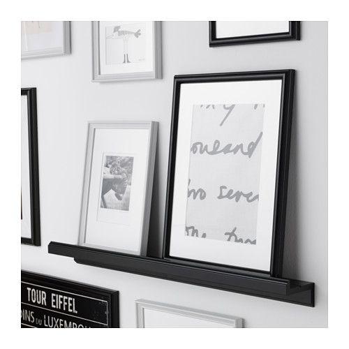 marietorp picture ledge black bilder bild leiste und ikea. Black Bedroom Furniture Sets. Home Design Ideas