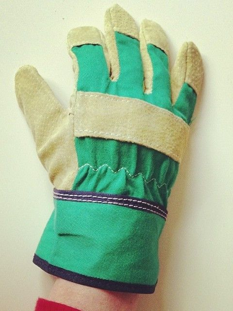 Children's gardening gloves at What You Sow. Protect young hands in the garden with these smart and practical children's gardening gloves, available in two sizes. A good pair of gloves will provide protection when weeding or handling soil and give kids the confidence to get stuck in without necessarily getting their hands dirty!   These kids gardening gloves are made from genuine suede and are designed to be hard-wearing whilst giving maximum protection to budding gardeners.