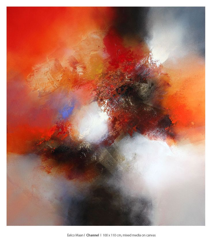 80 best Eelco Maan Lyrical abstract paintings / Available work ...