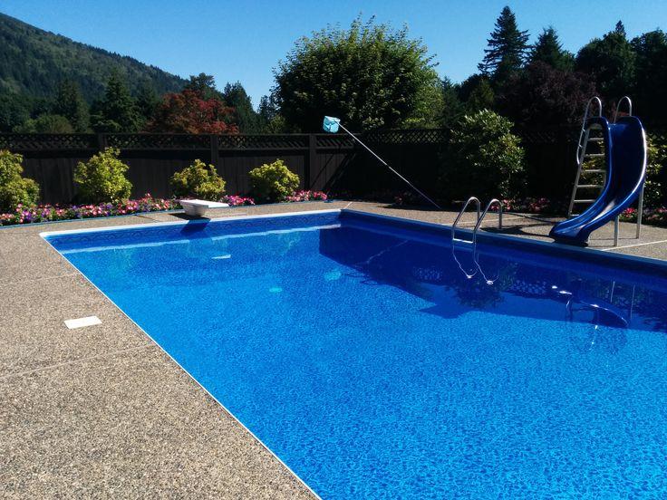 Inground Pools (With images) Pool steps inground