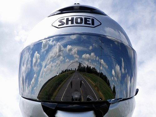 Motorcycle vision by deanspic, via Flickr