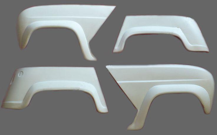 kit 4 parafanghi allargati Renault 4