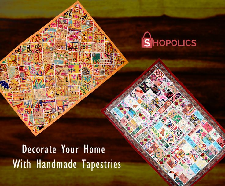 #Stunning #Gujarati #Pardas with #Thread and #Mirror #Work. Measuring 60 x 42 inches, this stunning #GujaratiParda is the best choice for your #home #décor. It is designed well with thread and #mirrorwork. It has the basic elements of #ancient #Indian #culture which can add a #royal feel and look to your #livingroom . Visit:  https://goo.gl/SOFPCF