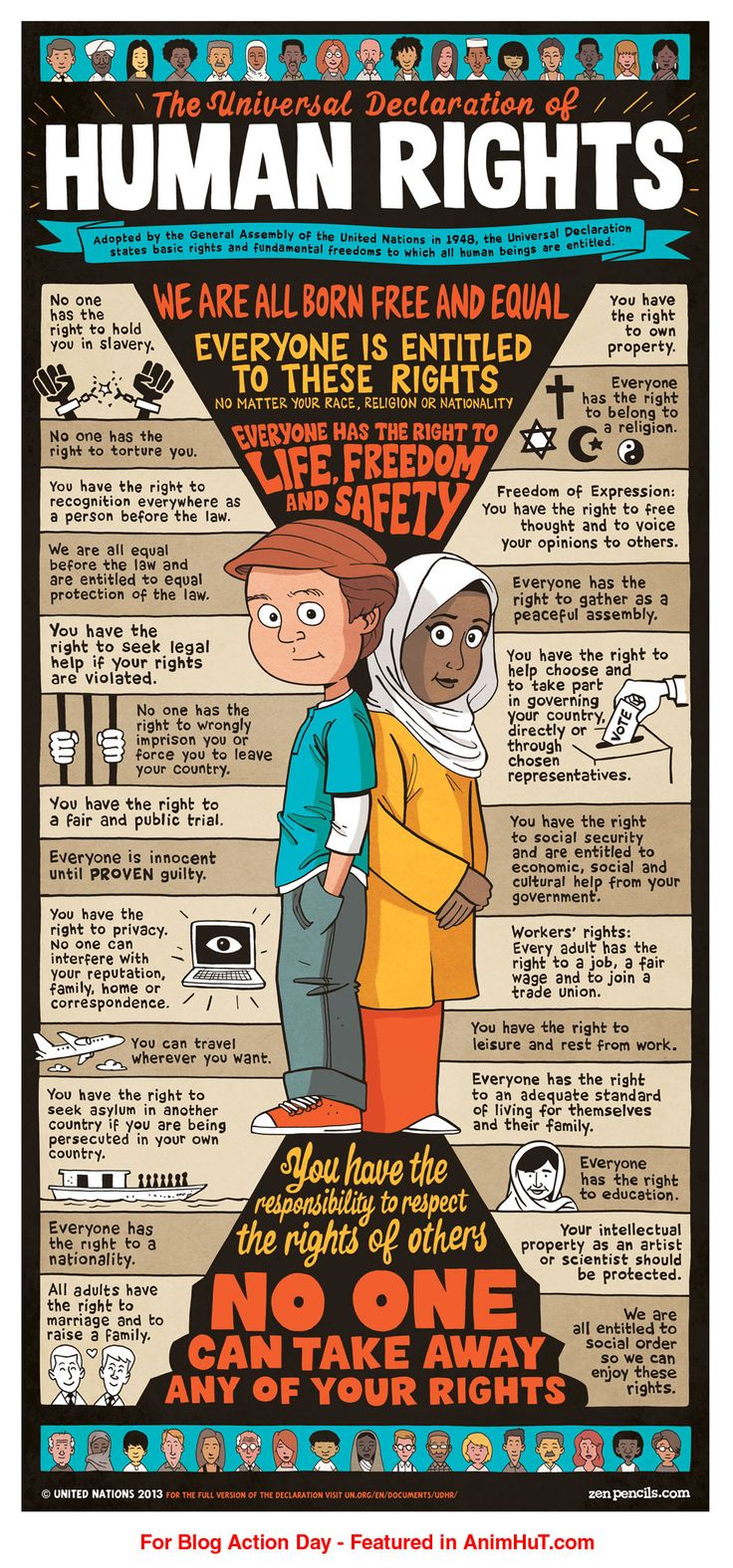 #HumanRights and  Civil Rights #poster design